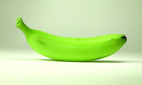 กล้วยหอมเขียวสดใส
