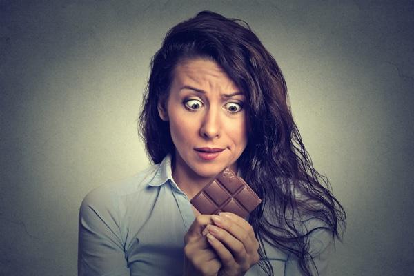 ช็อคโกแลตความอยากสีน้ำตาล