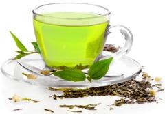 ถ้วยชาเขียวใบ