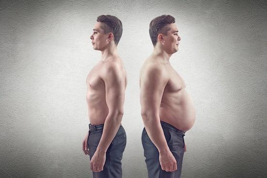 คนอ้วนกับคนผอม