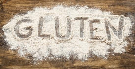 กลูเตนเขียนในข้าวสาลี