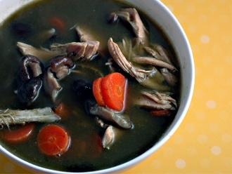 ซุปไก่เขียว