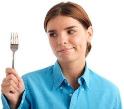 ผู้หญิงหิว