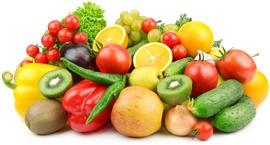 ผลไม้กีวีและผลไม้และผักอื่น ๆ
