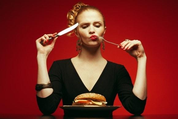 การกินเบอร์เกอร์อย่างมีสติ