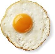 ไข่ดาวสุกเกินไป