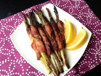 Paleo Bacon ห่อหน่อไม้ฝรั่ง