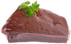 ตับเนื้อดิบ