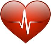 หัวใจสีแดงแนวคิดด้านสุขภาพ