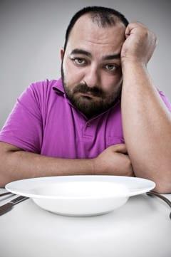 คนเศร้าอดอาหาร