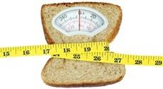 เกล็ดขนมปังกลายเป็นเกล็ดห่อด้วยเทปวัด