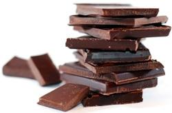 บล็อกช็อคโกแลตซ้อนกัน